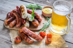 The Hermann Wurst Haus makes its German-style sausage in-house!